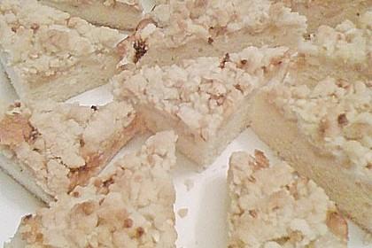 Streusel - Apfel - Blechkuchen wie bei Oma