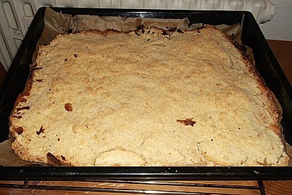 Streusel - Apfel - Blechkuchen wie bei Oma 2