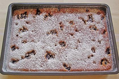 Heidelbeer - Blechkuchen 20