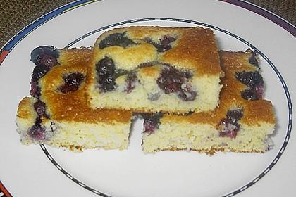 Heidelbeer - Blechkuchen 11