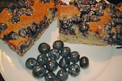 Heidelbeer - Blechkuchen 16