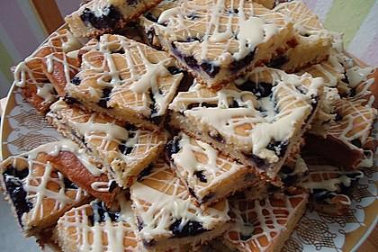 Heidelbeer - Blechkuchen 3