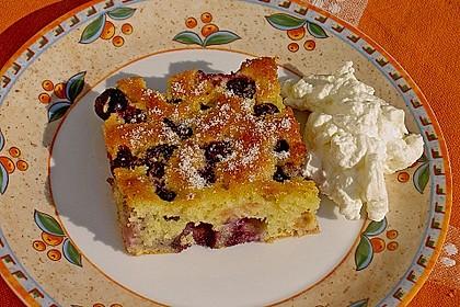 Heidelbeer - Blechkuchen 1