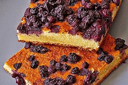 Heidelbeer - Blechkuchen 19