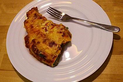 Brokkoli - Käse - Cannelloni