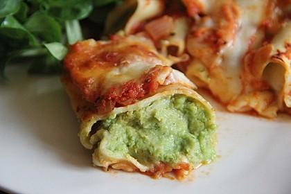 Brokkoli - Käse - Cannelloni 1
