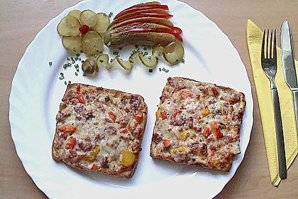 Toast überbacken 4