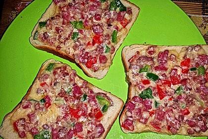 Toast überbacken 6