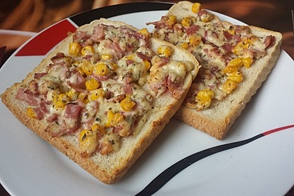 Toast überbacken 1
