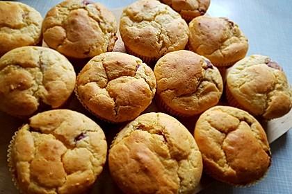 Gefüllte Marmeladenmuffins 5