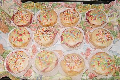 Gefüllte Marmeladenmuffins 13