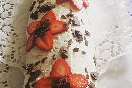 Erdbeer-Sahnerolle 92