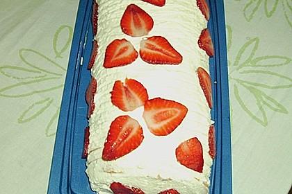 Erdbeer-Sahnerolle 80