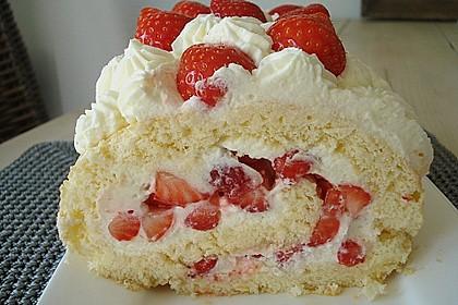 Erdbeer-Sahnerolle 31
