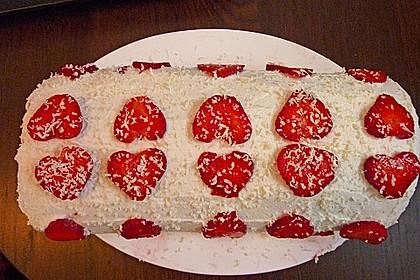 Erdbeer-Sahnerolle 19