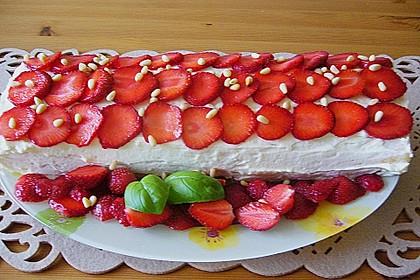 Erdbeer-Sahnerolle 55