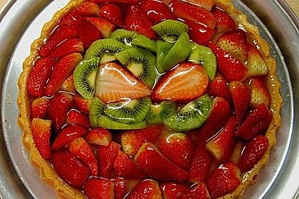 77 kcal Erdbeerkuchen 8
