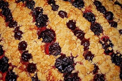 Omis Streuselblechkuchen mit Wahl - Obst