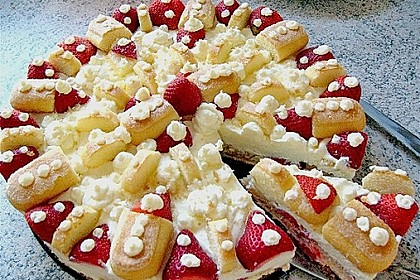 Erdbeer - Tiramisu - Torte à la Alina 2