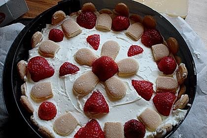 Erdbeer - Tiramisu - Torte à la Alina 18