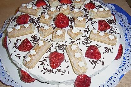 Erdbeer - Tiramisu - Torte à la Alina 10