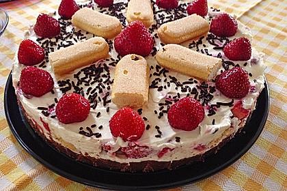 Erdbeer - Tiramisu - Torte à la Alina 6