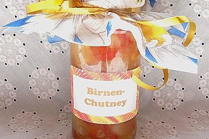 Birnen - Chutney 2