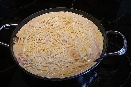 Chicoree mit Schinken und Käsesauce 14