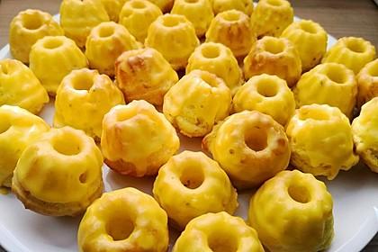 Zitronenmuffins (Bild)