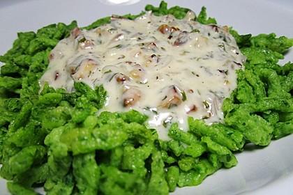 Gorgonzola - Sauce mit Walnüssen 1