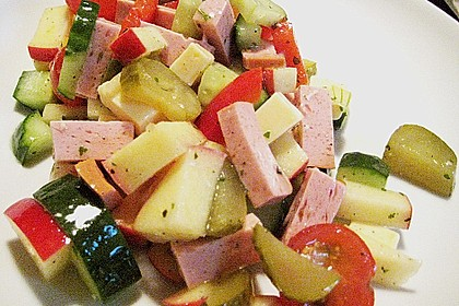 Käse - Wurst - Salat 1
