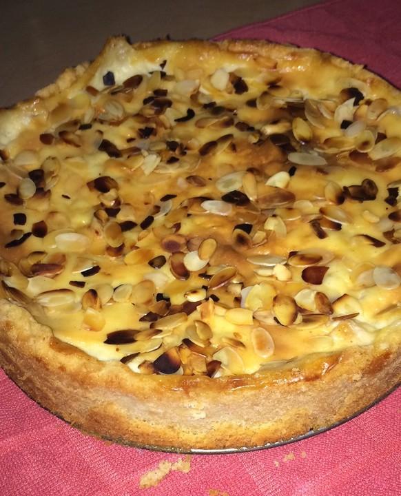 Apfelkuchen Mit Sahne Puddingguss Von Floo Chefkoch De