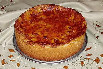 Apfelkuchen mit Sahne - Puddingguss 7