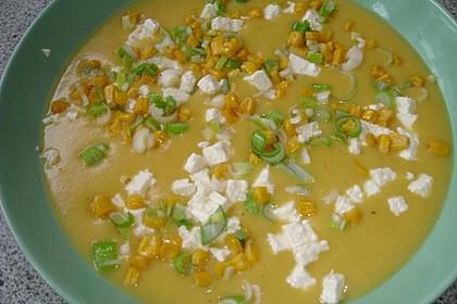 Kartoffelsuppe mit Käse (Bild)