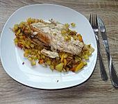 Geräucherte Makrele im Gemüse-Kartoffel-Bett à la Didi (Bild)