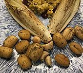 Süßkartoffel-Gnocchi mit gebratenem Chicoree (Bild)