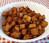 Pommes frites aus der Pfanne (Bild)