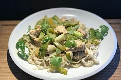 """Hähnchen-Gemüse-Wok """"Thai-Spicy"""" (Bild)"""