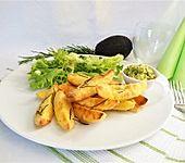 Ofen-Kartoffel mit Avocadocreme (Bild)