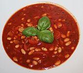 Weiße Bohnen in Tomatensauce (Bild)