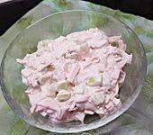 Vegetarischer Schinken-Spicker-Mortadella Salat (Bild)