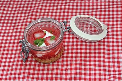 Joghurt-Erdbeer-Overnight Oats (Bild)