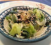 Gurken-Wakame-Salat (Bild)