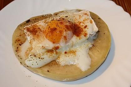 Kohlrabi mit Ei und Ziegenkäse Sous-Vide (Bild)