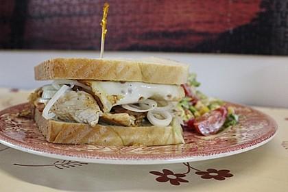 Putenbrust-Sandwich (Bild)