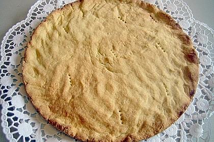 Stachelbeer - Sahne - Baiser - Torte 8