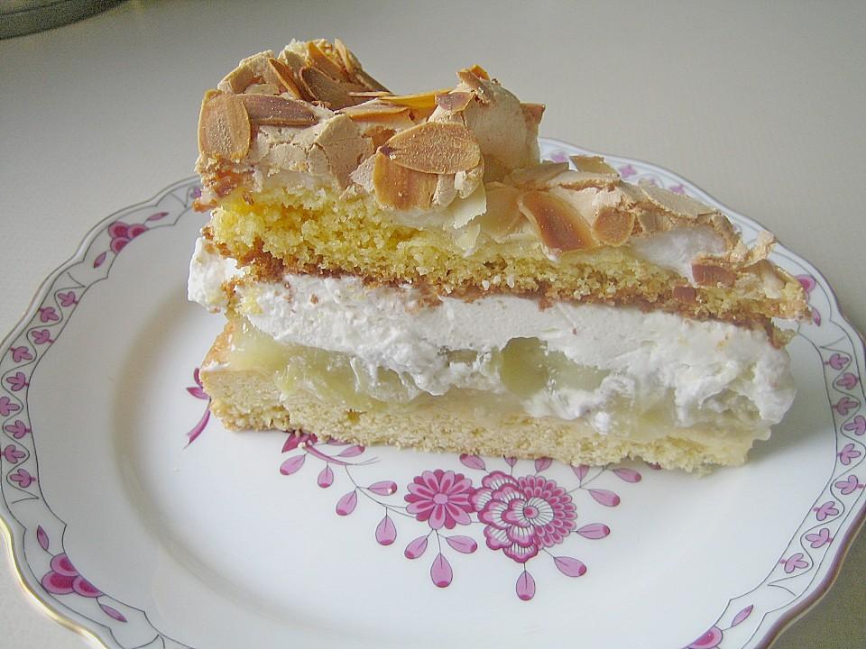 Stachelbeer Sahne Baiser Torte Von Schrat Chefkoch De