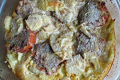 Tomaten - Kartoffel - Auflauf