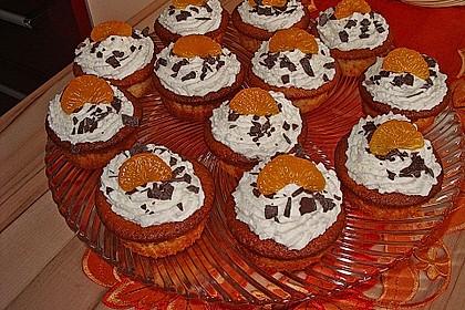 Mandarinen - Muffins 1