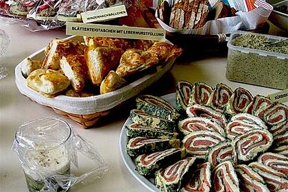 Lachsrolle mit Spinat und Frischkäse 49